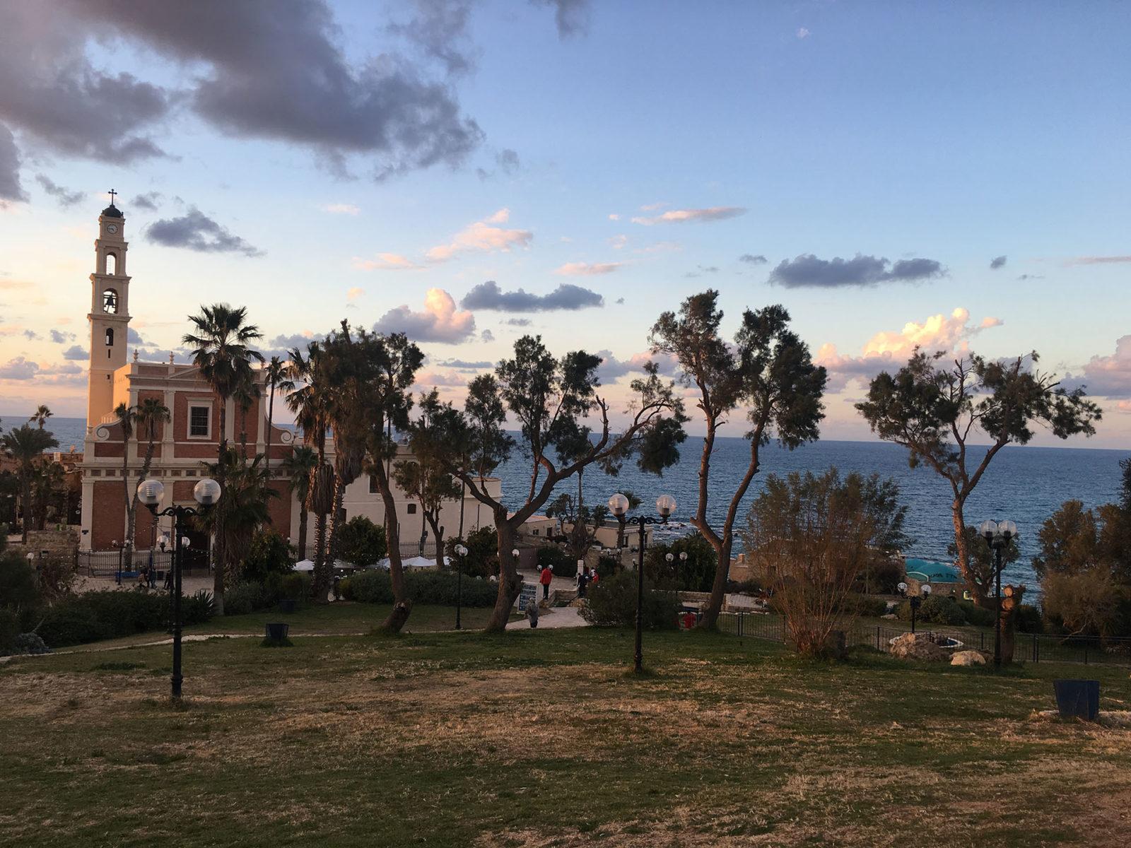 Jaffa saint peters church