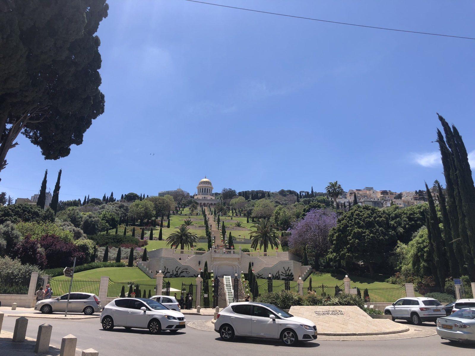 The Baha'i Gardens in Haifa