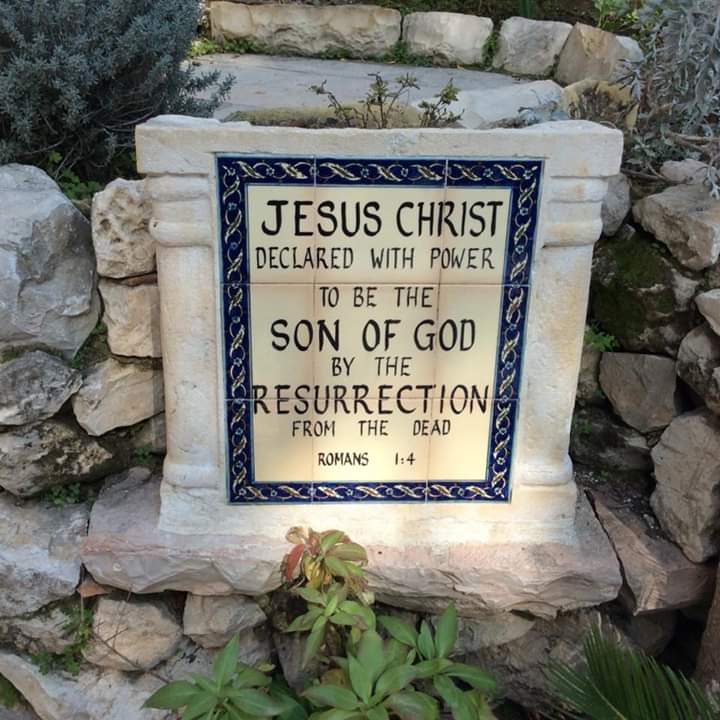 Garden tomb of Jesus Christ