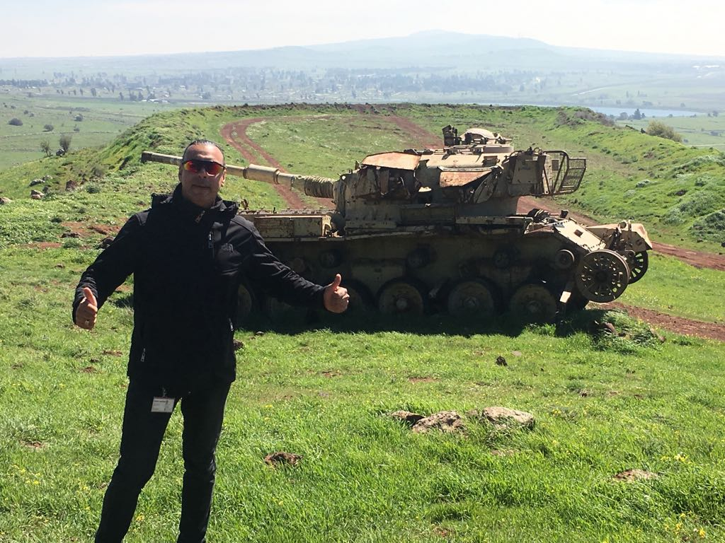 Tank in the Golan Height | Holy Land VIP Tours