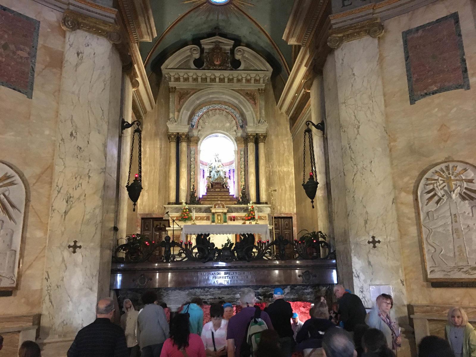 Stella Maris Monastery on Mount Carmel
