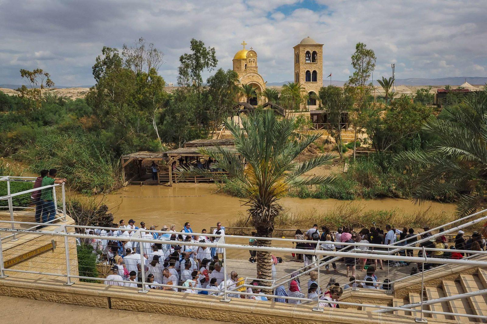 Qaser El Yehud - Baptism site on the Jordan River