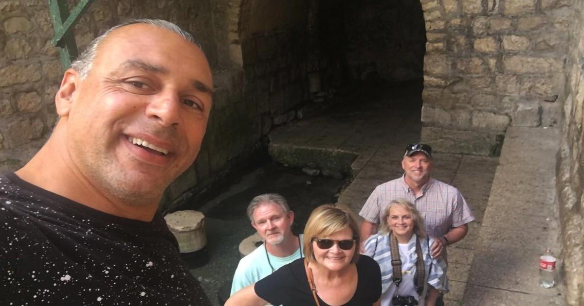 Pool of Siloam in Jerusalem