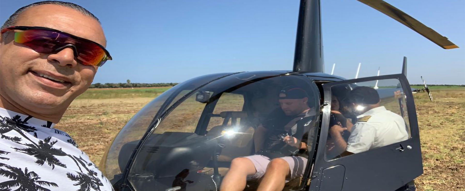 Helicopter tour in Israel | Holy Land VIP Tours