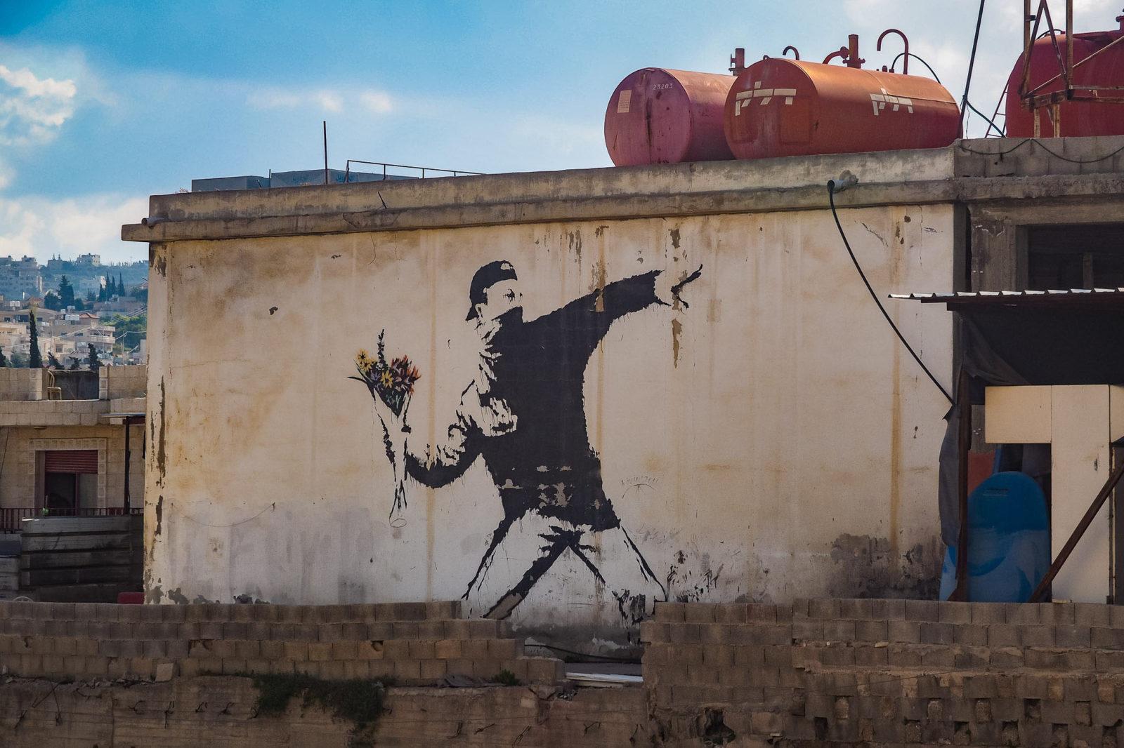 Banks'i Graffiti, Bethlehem, West Bank