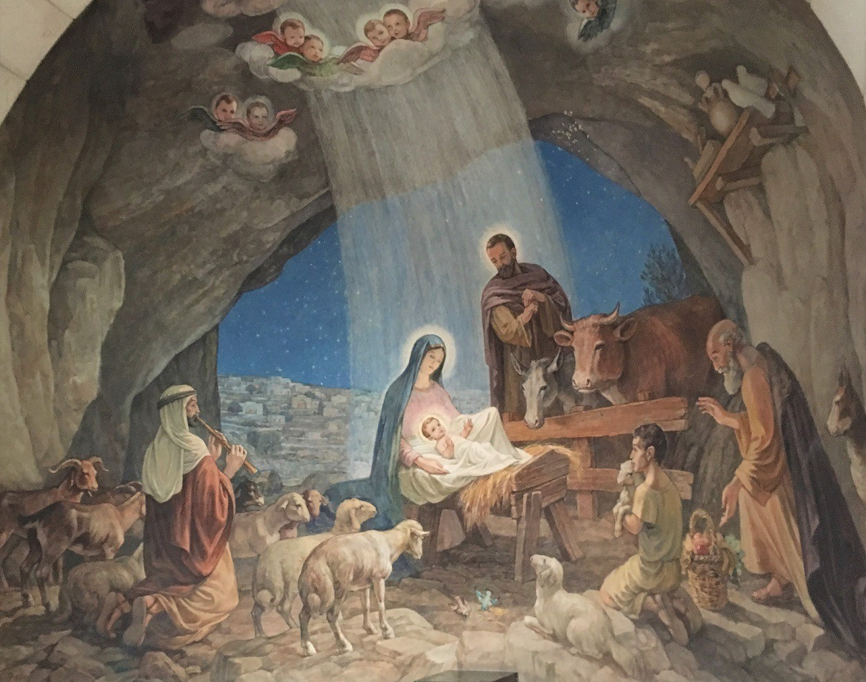 Shepherds' Field Chapel