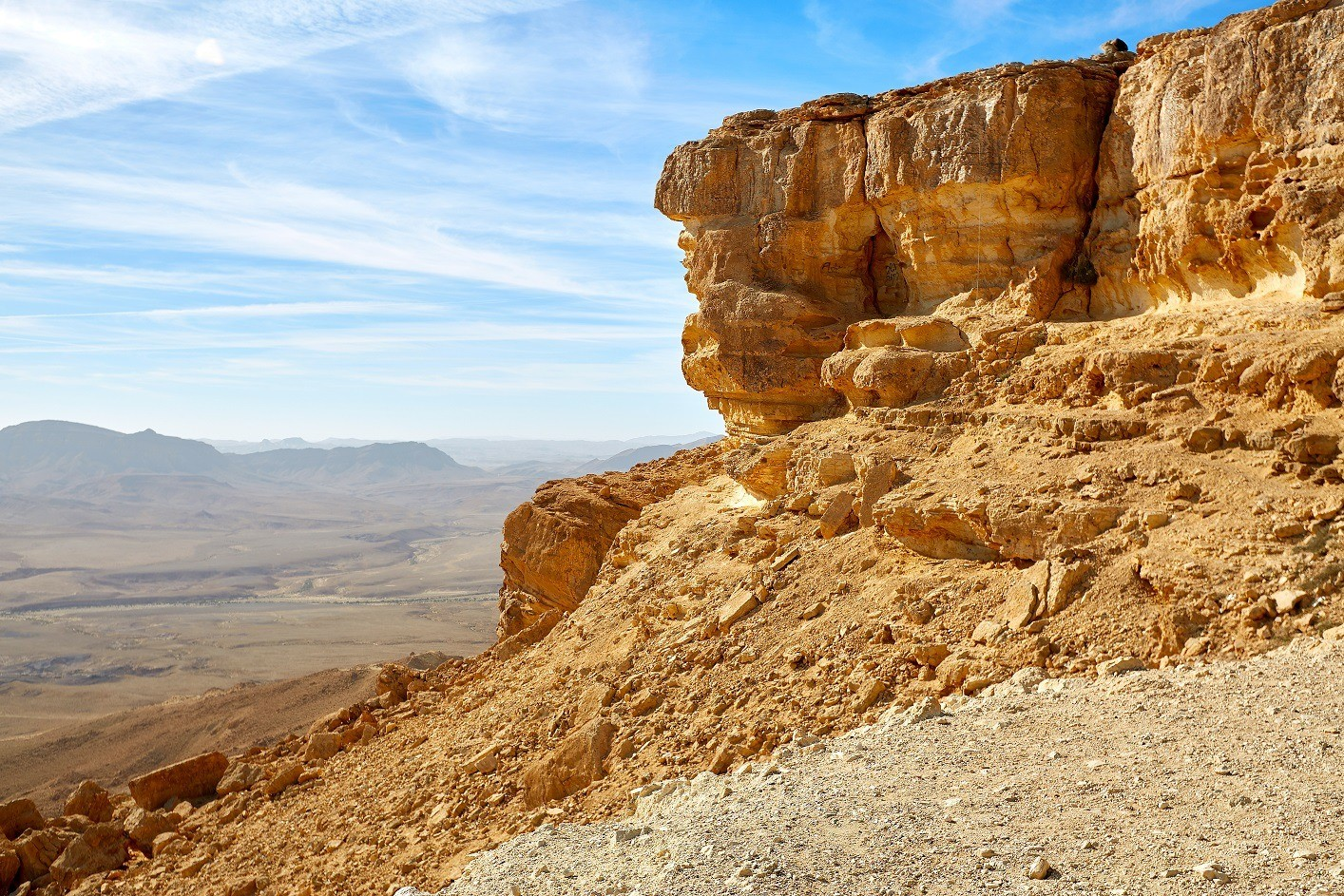 Makhtesh Ramon Crater in Israel