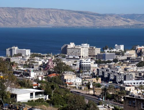Tiberias One Of The Most Significant Holy Cities