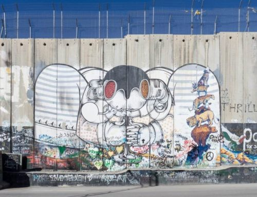 Visiting Bethlehem To See Bansky's Beautiful Street Art